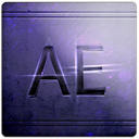 Ae, Arts, Blue Icon