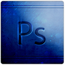 Ps, Arts, Blue MidnightBlue icon