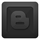 blogger DarkSlateGray icon