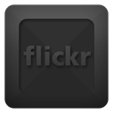 Text, flickr DarkSlateGray icon