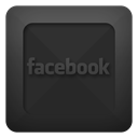 Facebook, Text DarkSlateGray icon