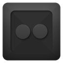 flickr DarkSlateGray icon