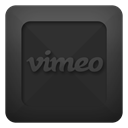 Vimeo, Text DarkSlateGray icon