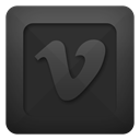Vimeo DarkSlateGray icon