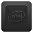 Text, intel DarkSlateGray icon
