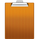 Clipboard Chocolate icon