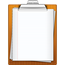 paper, Clipboard WhiteSmoke icon