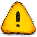 bullet, Error Gold icon