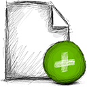 File, Add OliveDrab icon