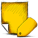 Note, tagged Gold icon