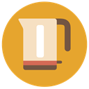 Jar, drinks, water, Tools And Utensils, beverage Goldenrod icon