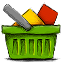 Basket, Full OliveDrab icon
