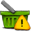 Basket, Error OliveDrab icon