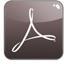 Acrobat, distiller, adobe DarkSlateGray icon