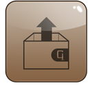 stuffit, expander Gray icon