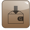 dropstuff, stuffit Gray icon