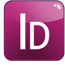 adobe, Indesign Purple icon