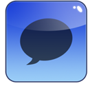 ichat CornflowerBlue icon
