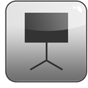 keynote Gray icon