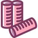 Beauty, Beauty Salon, Hair Rollers, fashion, Grooming DimGray icon