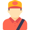 Delivery Man, Occupation, Avatar, Courier, profession, people, job, Driver Tomato icon