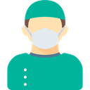 profession, people, Occupation, Surgeon, medical, doctor, Avatar, job, Health Care LightSeaGreen icon
