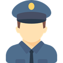 Avatar, Policeman, Occupation, job, people, profession, Man SlateGray icon
