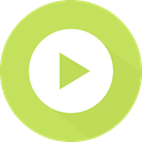 video player, directional, music player, Multimedia Option, play, Orientation, next, button, Arrows DarkKhaki icon