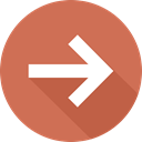 Multimedia Option, Orientation, Arrows, next, directional, skip IndianRed icon