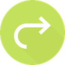 directional, Orientation, right arrow, Arrows, Multimedia Option DarkKhaki icon