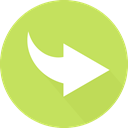 Orientation, directional, skip, next, Arrows, Multimedia Option, right arrow DarkKhaki icon