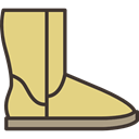 Boot, fashion, winter, Clothes, Snow Boot, clothing, footwear Khaki icon