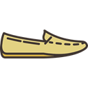 footwear, shoe, fashion, clothing, Loafer, Clothes Black icon