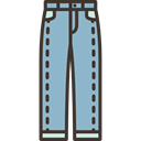 pants, Clothes, fashion, Garment, trousers SkyBlue icon