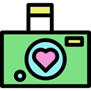 photography, technology, photograph, photo, Camera, photo camera LightGreen icon