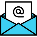 At, mail, Arroba, envelope, Message, Email, Multimedia Turquoise icon