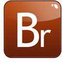 adobe, bridge SaddleBrown icon