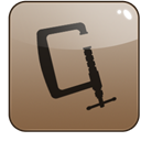 Archive, stuffit, manager Gray icon