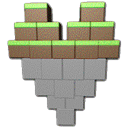 minecraft, Heart Gray icon