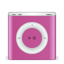 Apple, nano, festival, ipod, pink PaleVioletRed icon