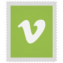 Vimeo YellowGreen icon