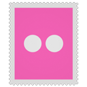 flickr HotPink icon