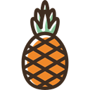 natural, organic, Healthy Food, pineapple, vegan, food, Fruit, vegetarian Black icon
