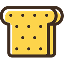 meal, food, snack, Lunch, sandwich, Bread SandyBrown icon