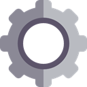 settings, Gear, cogwheel, Tools And Utensils, configuration LightSlateGray icon