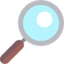 zoom, search, Loupe, detective, magnifying glass, Tools And Utensils PaleTurquoise icon
