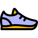 Sneakers, fashion, sneaker, Trainers, shoes, footwear Black icon