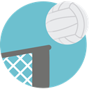 team, equipment, Sport Team, sports, volleyball MediumAquamarine icon