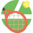 sports, Ball, tennis, Sportive, racket DarkSeaGreen icon