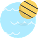 waterpolo, swimming, leisure, sports, Water Sports, Swimming Pool PaleTurquoise icon